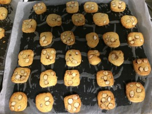 All Butter Almond Cookies