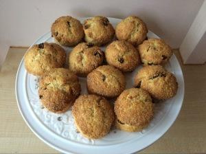 Sugar Crusted Fruit Scones