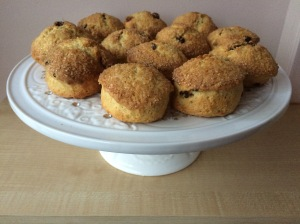 Sugar Crusted Sultana Scones