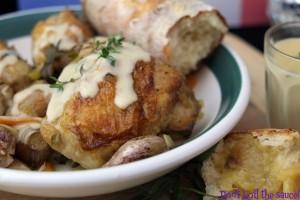 France 40 clove garlic chicken 6