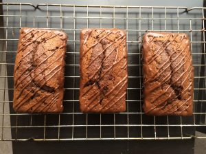 Cooling Chocolate Loaves