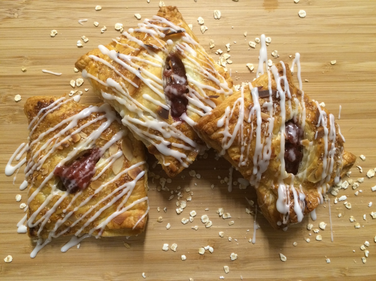 Apple and Plum Turnovers