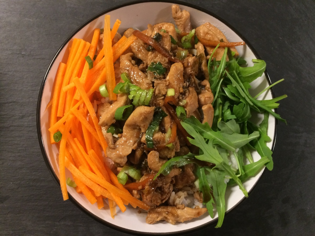 Recreating Wagamama's Chicken Teriyaki Donburi
