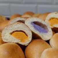 Sweet Potato and Taro Tangzhong Buns
